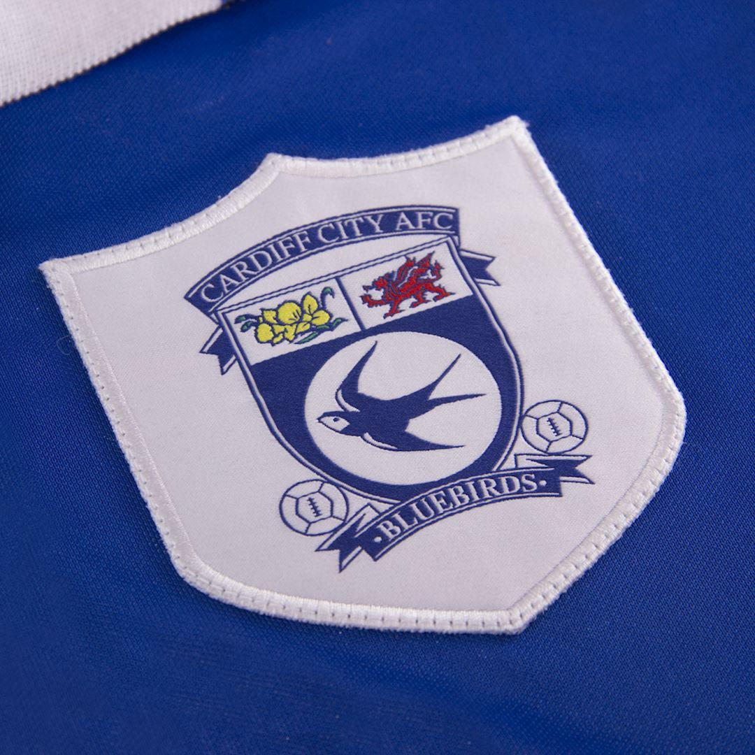 Cardiff City FC 1998 - 99 Retro Football Shirt | 3 | COPA