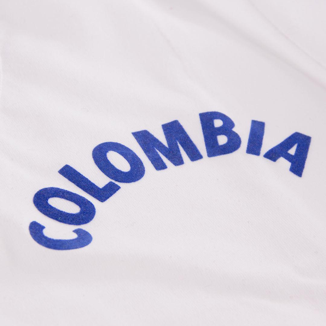 Colombia 1973 Retro Football Shirt   3   COPA