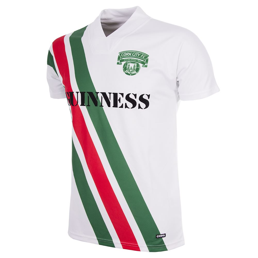 Shop Cork City F.C. 1991 Short Sleeve Retro Football Shirt  82180575198c