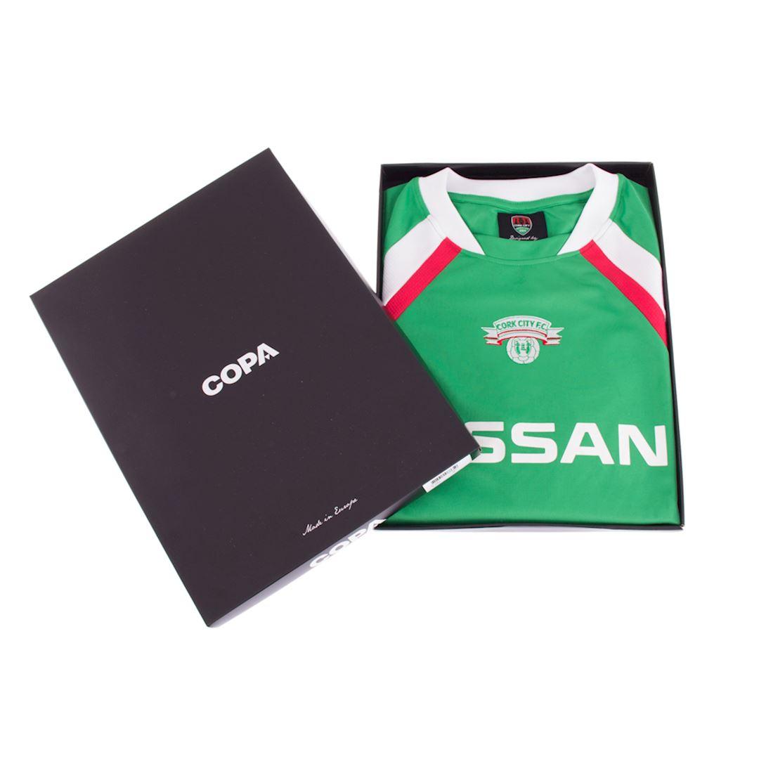 Cork City FC 2004 - 05 Retro Football Shirt | 6 | COPA