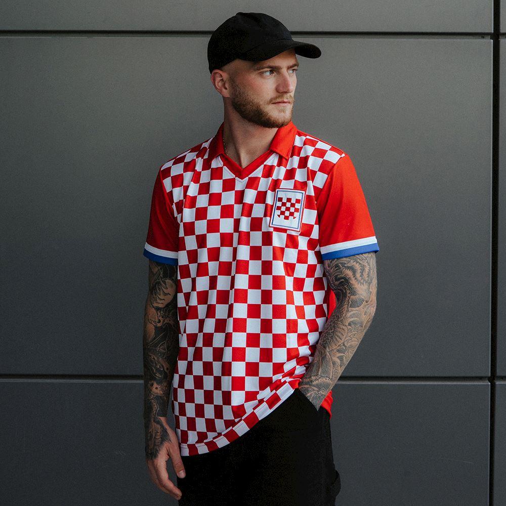 Croatia 1992 Retro Football Shirt | 7 | COPA