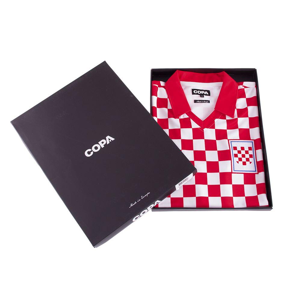 Croatia 1992 Retro Football Shirt | 6 | COPA
