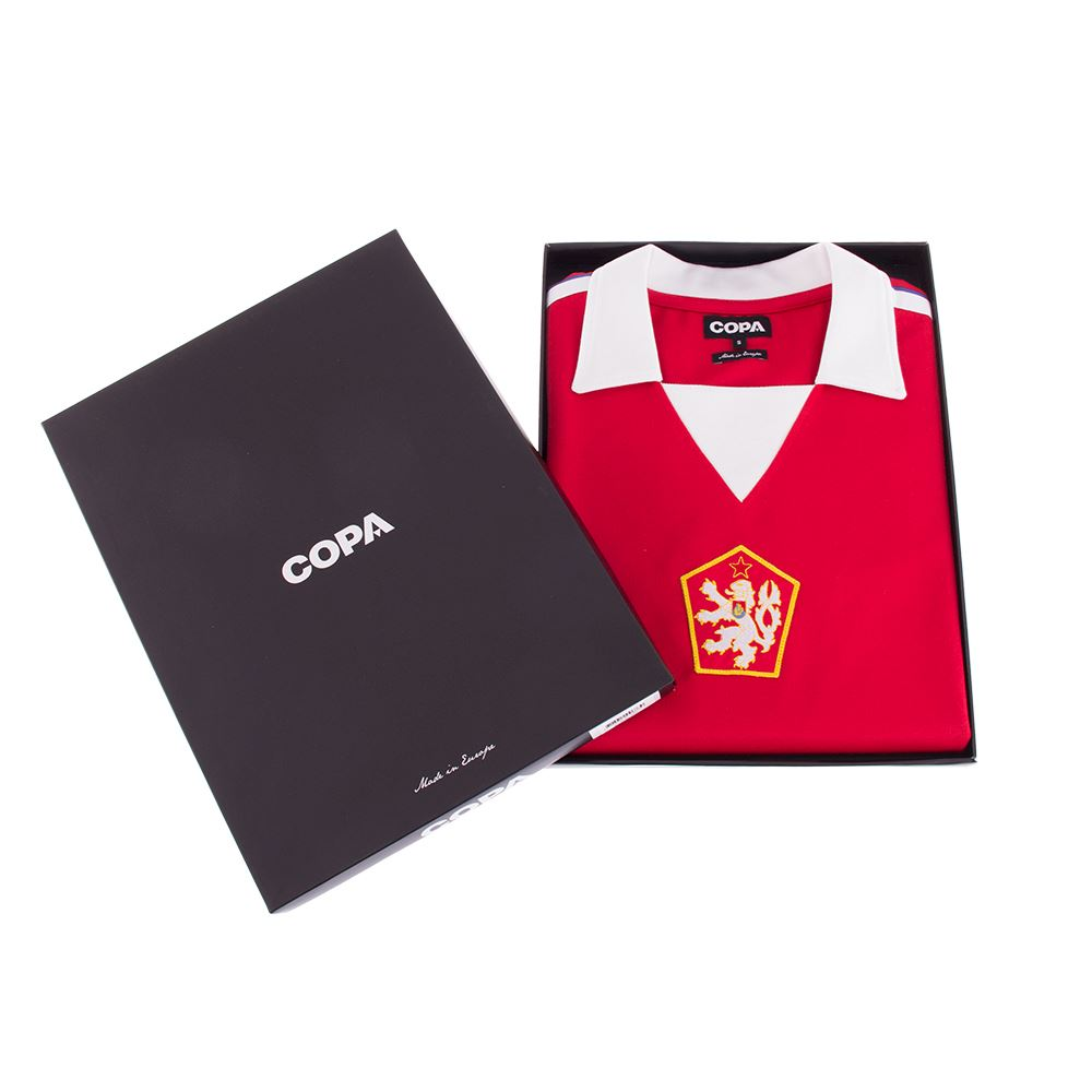 Czechoslovakia 1976 Retro Football Shirt | 6 | COPA