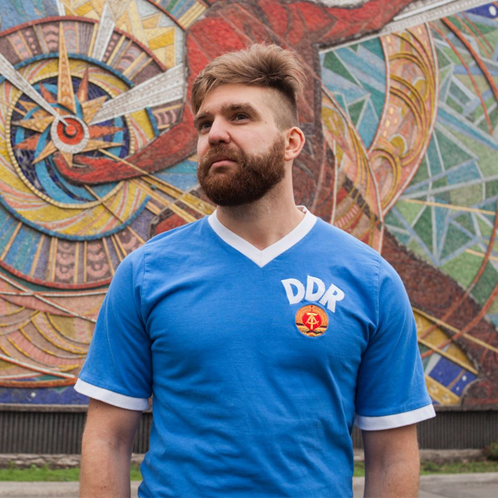 DDR World Cup 1974 Retro Voetbal Shirt | 7 | COPA