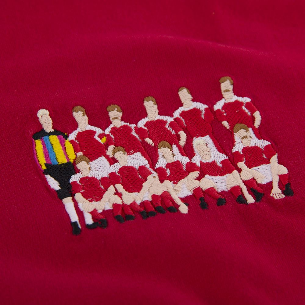 Denmark 1992 European Champions Embroidery T-Shirt | 2 | COPA