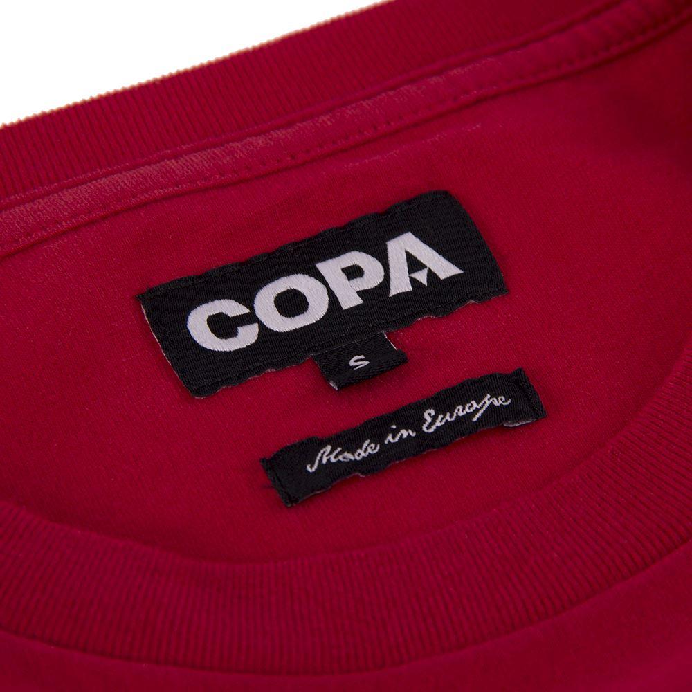 Denmark 1992 European Champions Embroidery T-Shirt | 3 | COPA
