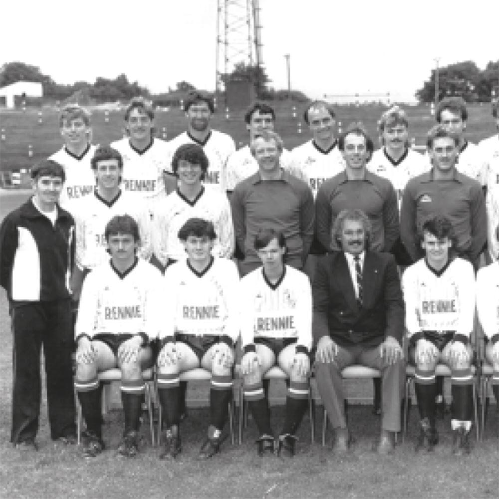 Dunfermline Athletic 1985 - 86 Retro Football Jacket | 2 | COPA