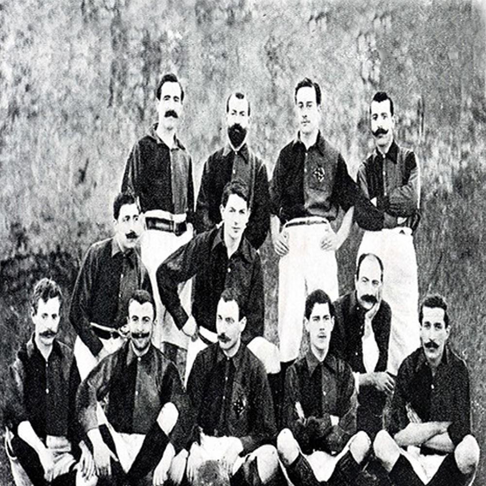 Shop FC Barcelona 1899 Long Sleeve Retro Football Shirt ...