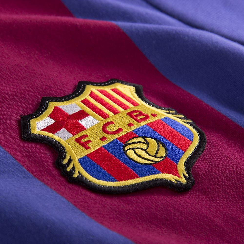 FC Barcelona 1973 - 74 Retro Football Shirt   3   COPA