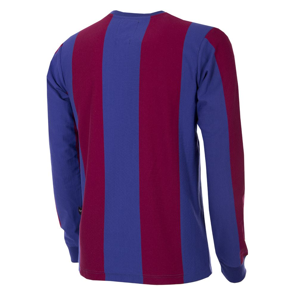 FC Barcelona 1973 - 74 Retro Football Shirt   4   COPA