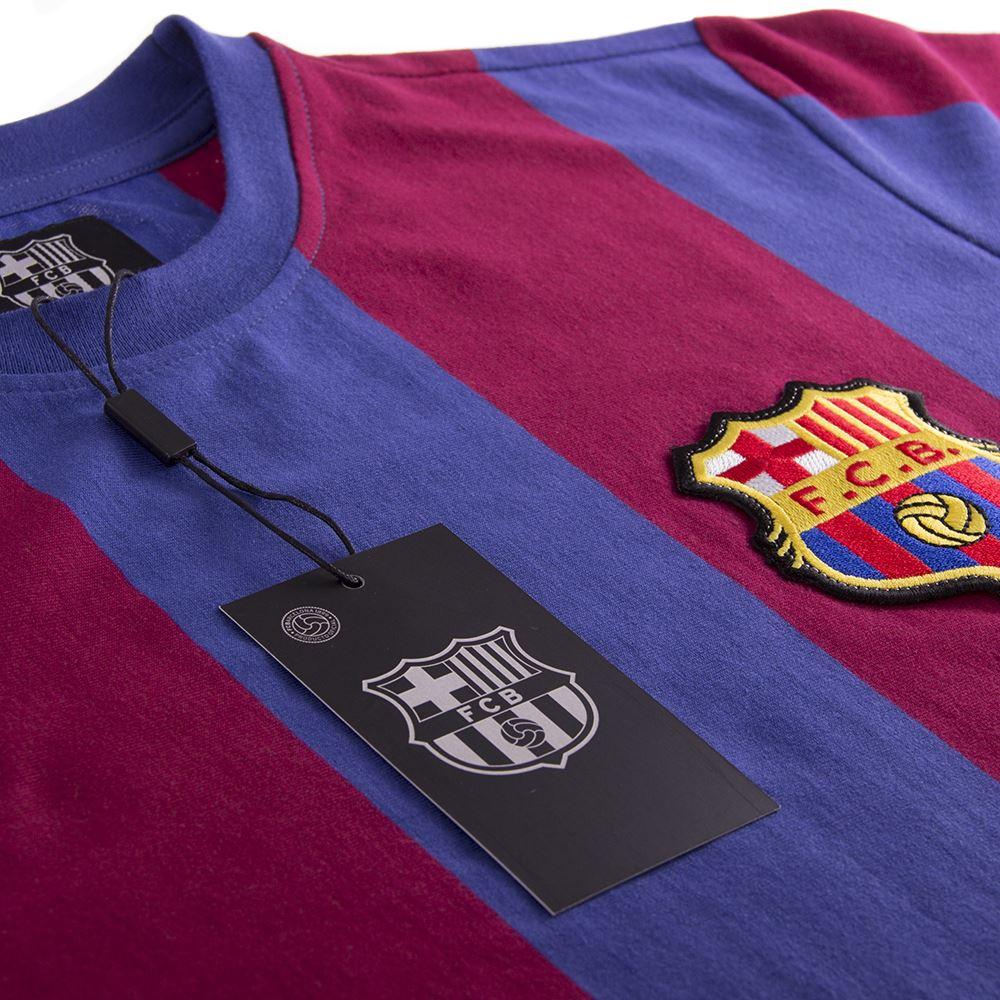 FC Barcelona 1973 - 74 Retro Football Shirt   5   COPA