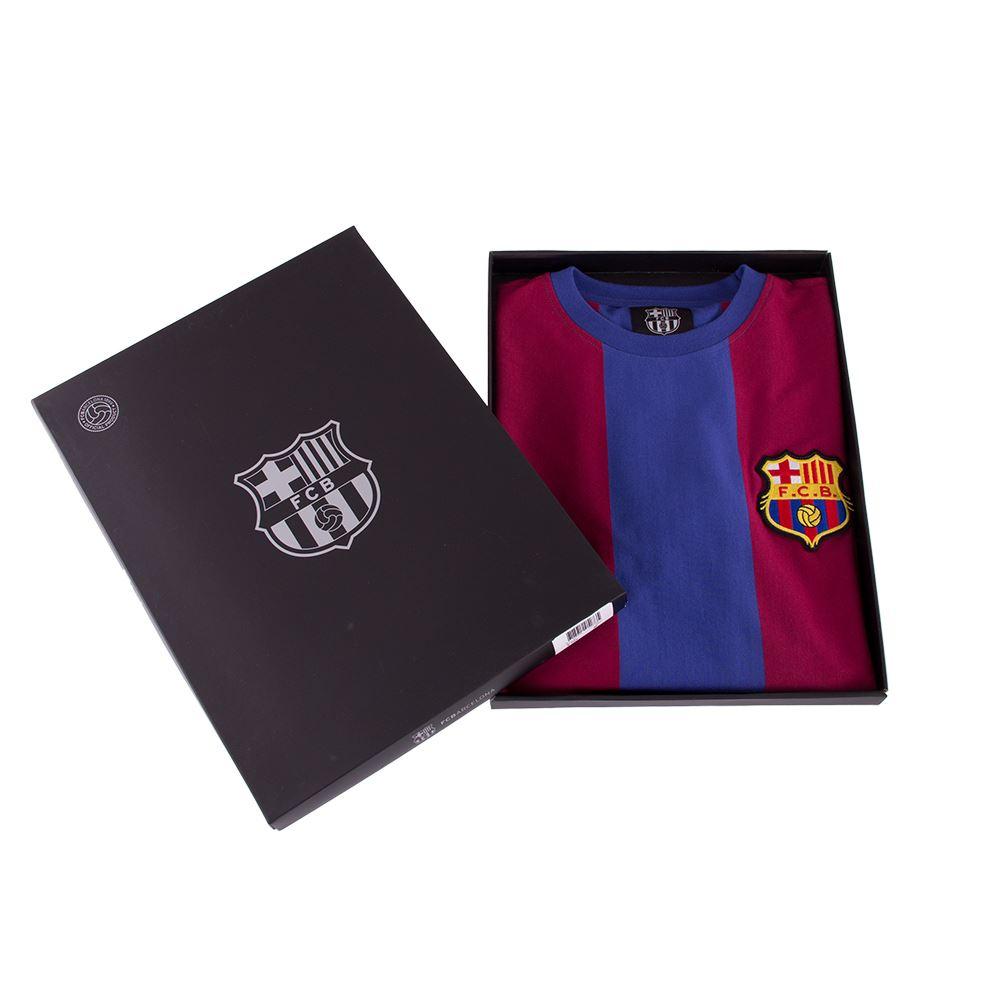 FC Barcelona 1973 - 74 Retro Football Shirt   7   COPA