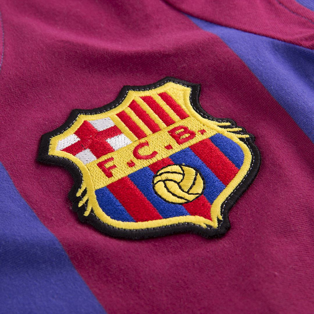 FC Barcelona 1976 - 77 Womens Camiseta de Fútbol Retro | 3 | COPA