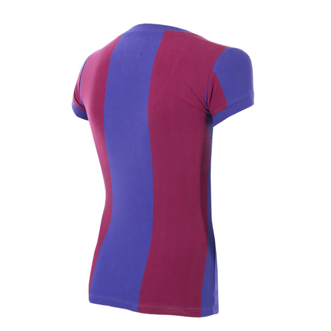 FC Barcelona 1976 - 77 Womens Camiseta de Fútbol Retro | 4 | COPA