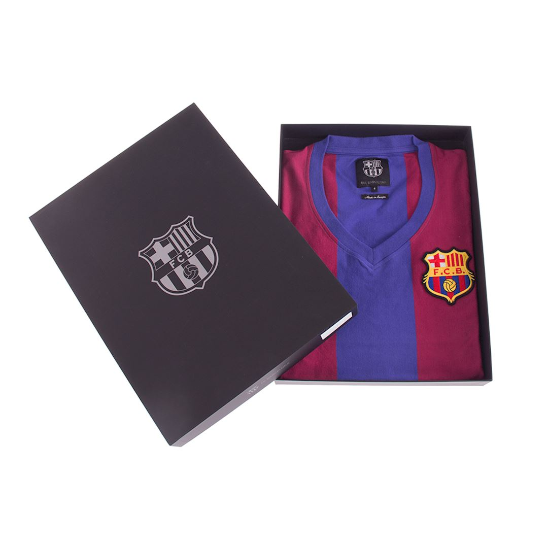 FC Barcelona 1976 - 77 Womens Camiseta de Fútbol Retro | 6 | COPA