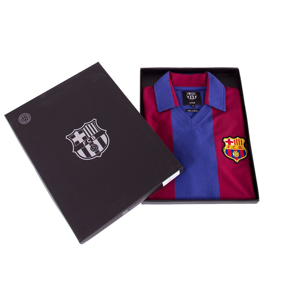 FC Barcelona 1980 - 81 Retro Football Shirt | 6 | COPA