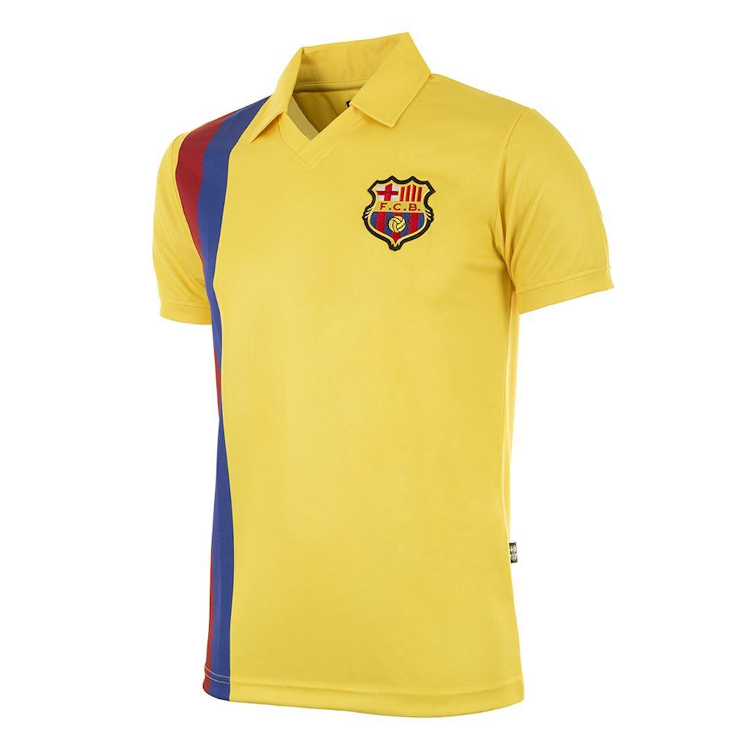 FC Barcelona 1981 - 82 Away Retro Football Shirt   1   COPA