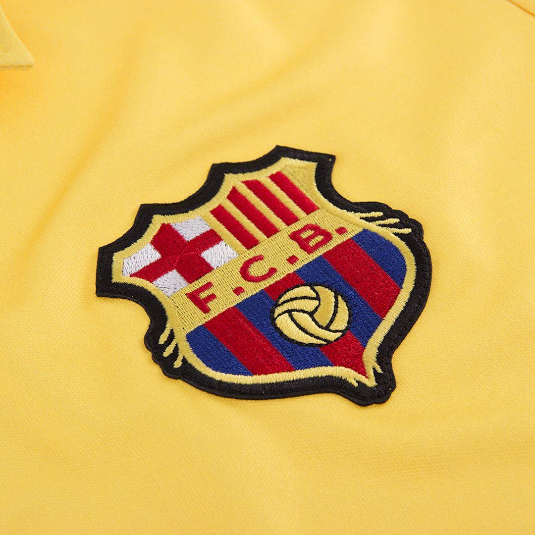 FC Barcelona 1981 - 82 Away Retro Football Shirt   3   COPA