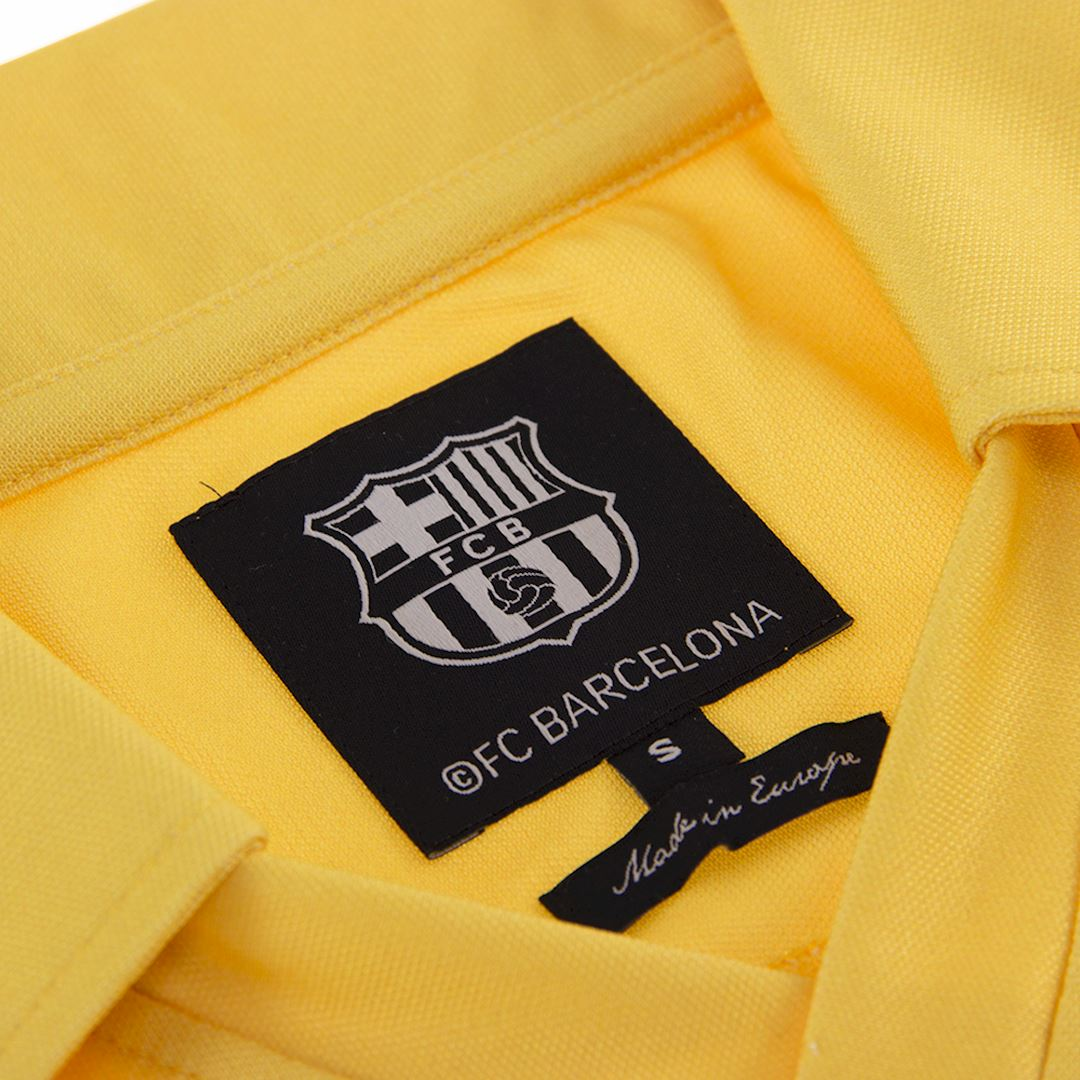 FC Barcelona 1981 - 82 Away Retro Football Shirt   5   COPA