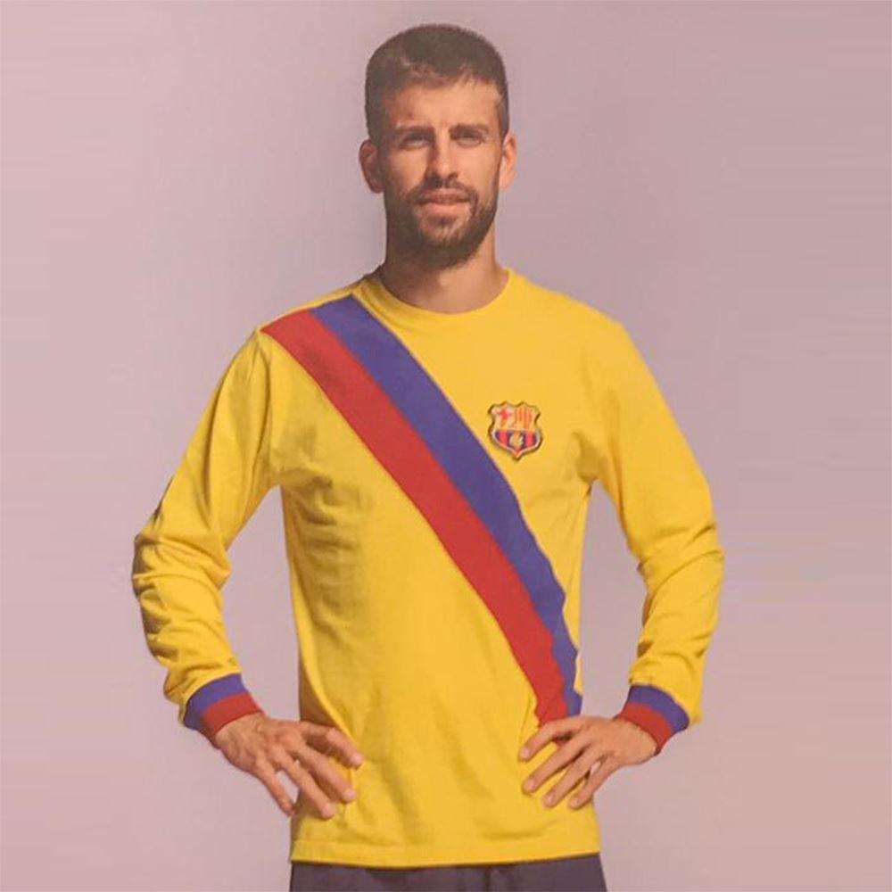 FC Barcelona Away 1974 - 75 Retro Football Shirt | 8 | COPA