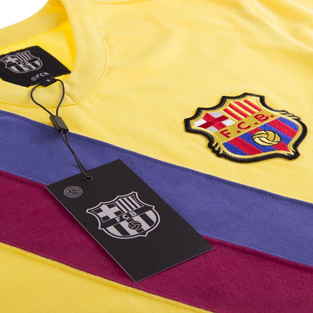 FC Barcelona Away 1978 - 79 Retro Football Shirt   5   COPA