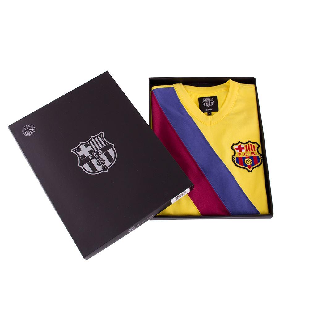 FC Barcelona Away 1978 - 79 Retro Football Shirt   7   COPA