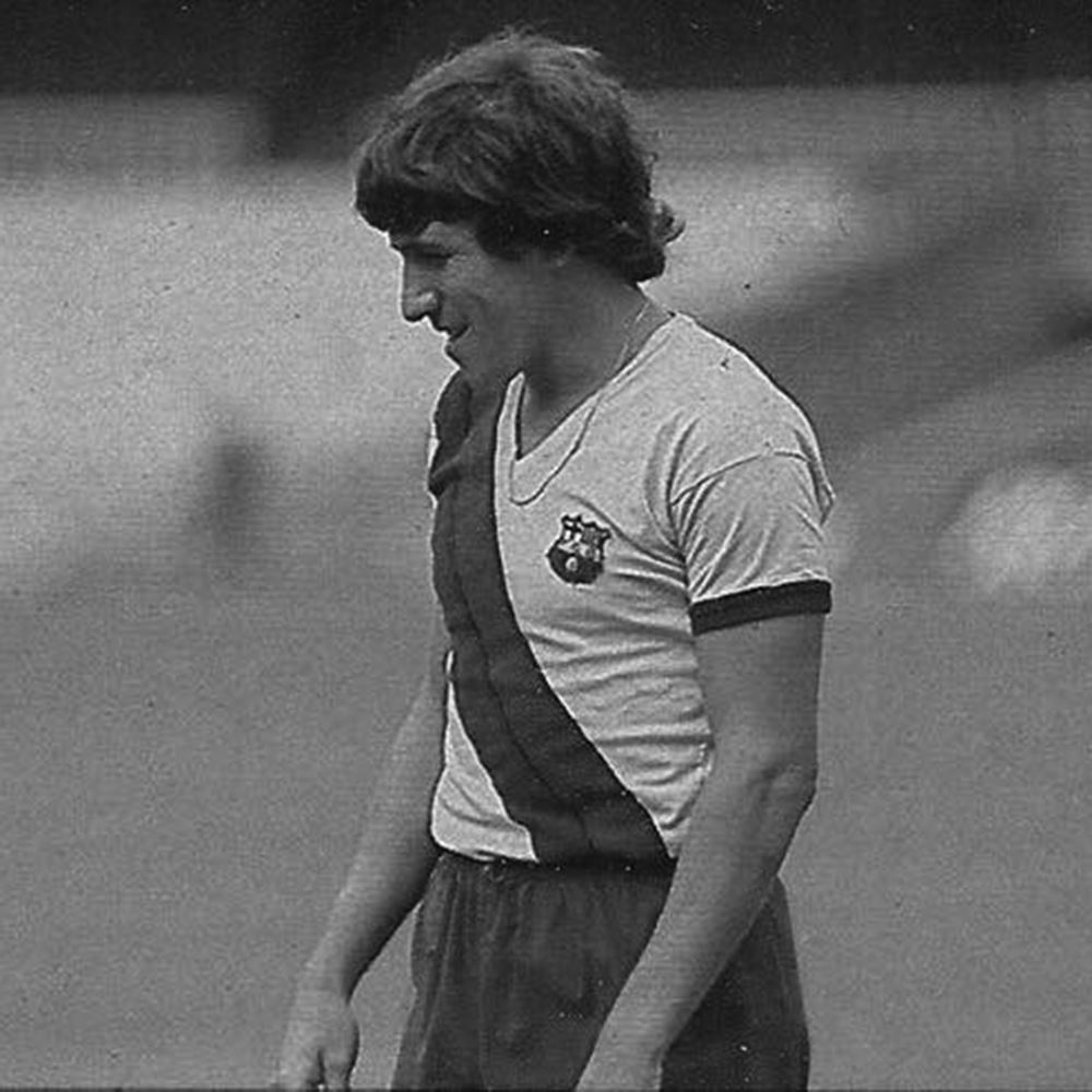 FC Barcelona Away 1978 - 79 Retro Football Shirt   2   COPA