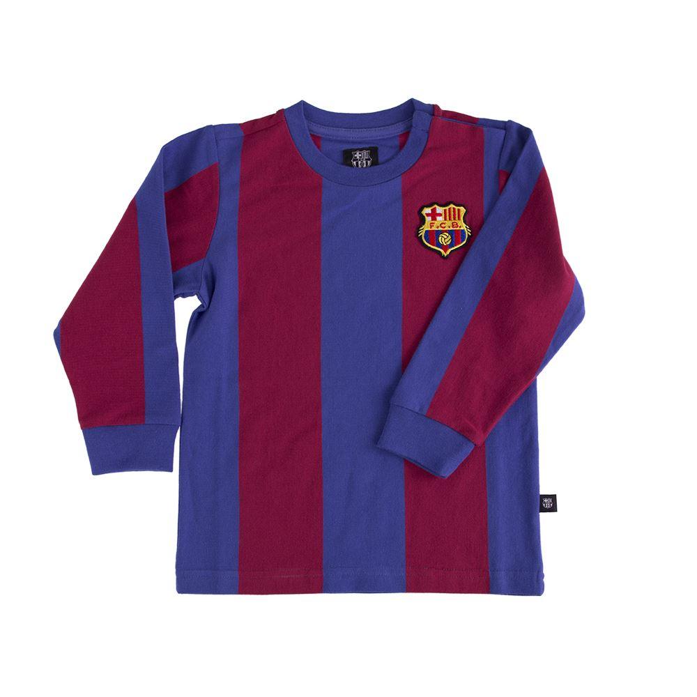 Shop FC Barcelona  My First Football Shirt  Long Sleeve  2c9d7455a88a