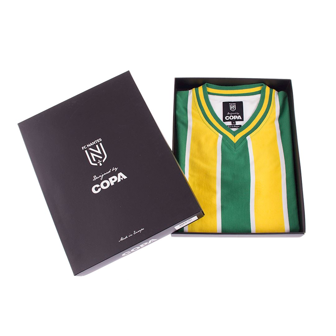 FC Nantes 1965 - 66 Retro Football Shirt | 5 | COPA