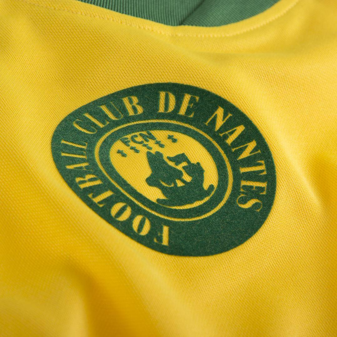 FC Nantes 1978 - 79 Retro Football Shirt | 3 | COPA