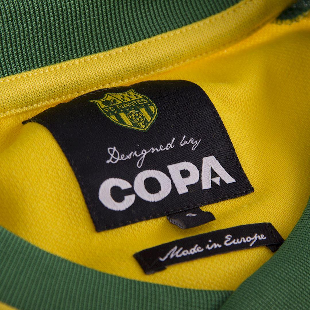 FC Nantes 1978 - 79 Retro Football Shirt | 6 | COPA