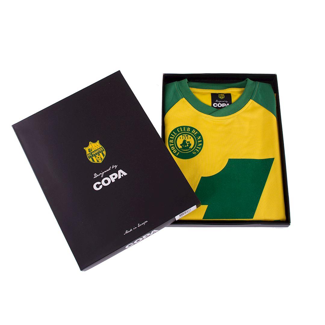 FC Nantes 1978 - 79 Retro Football Shirt | 7 | COPA