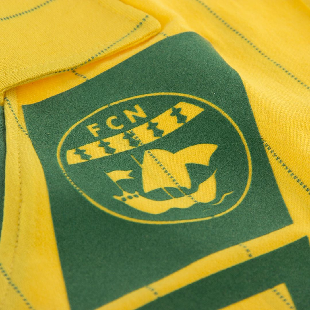 FC Nantes 1982 - 83 Retro Football Shirt | 4 | COPA