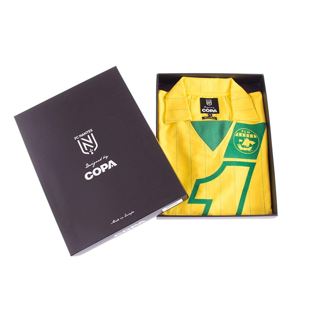 FC Nantes 1982 - 83 Retro Football Shirt | 6 | COPA