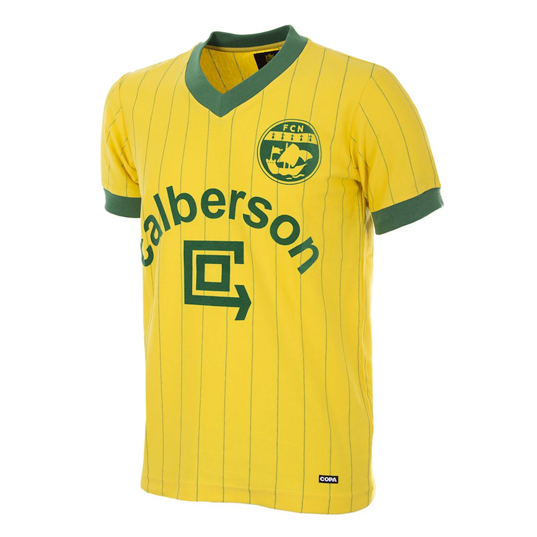FC Nantes 1982 - 83 Retro Football Shirt | 1 | COPA