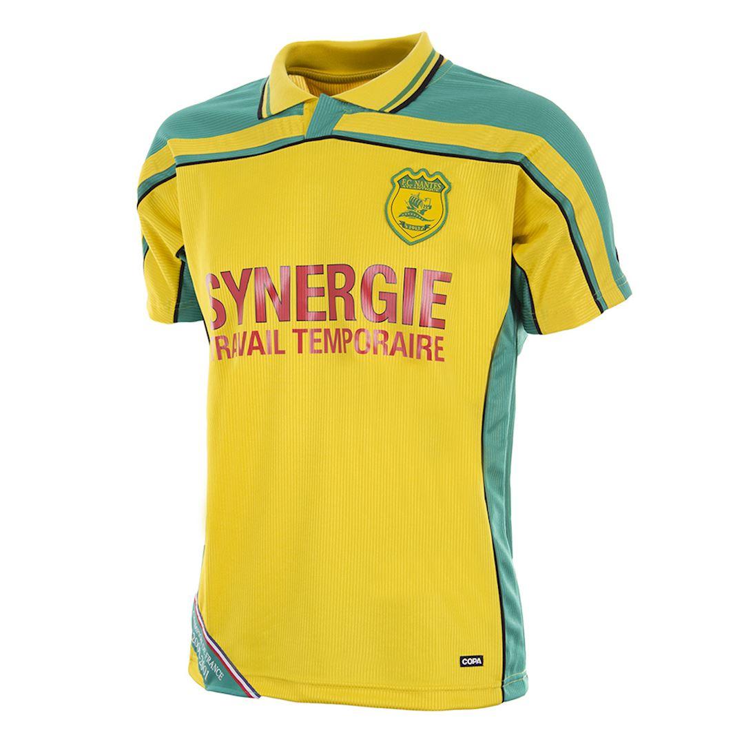FC Nantes 2000 - 01 Retro Football Shirt | 1 | COPA