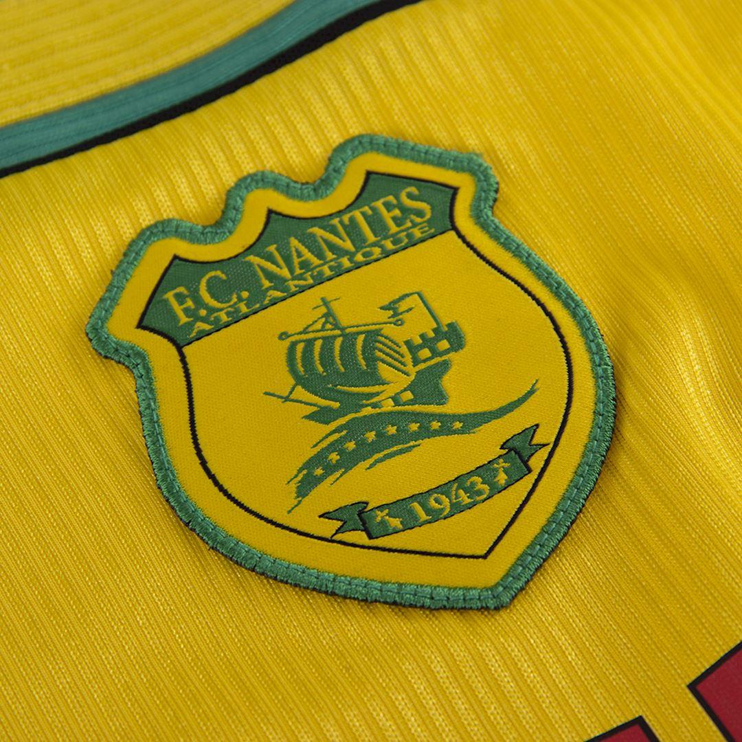 FC Nantes 2000 - 01 Retro Football Shirt | 3 | COPA