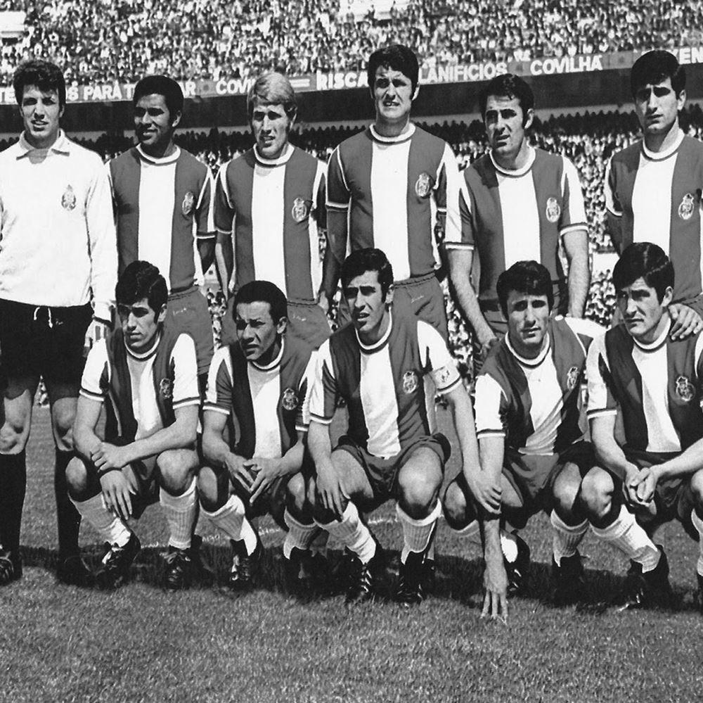 FC Porto 1971 - 72 Retro Football Shirt | 2 | COPA