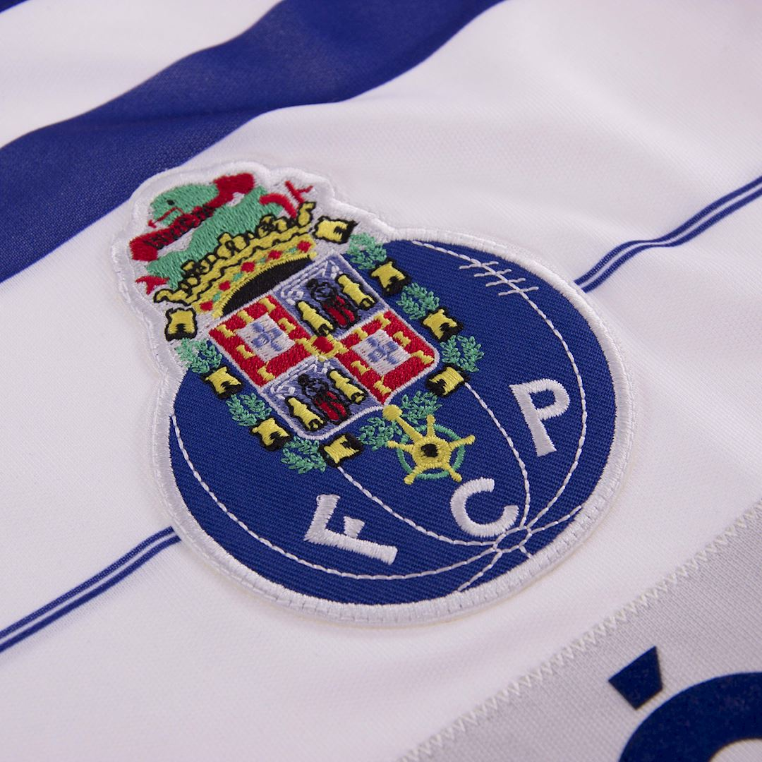 FC Porto 1985 - 86 Away Retro Football Shirt   3   COPA