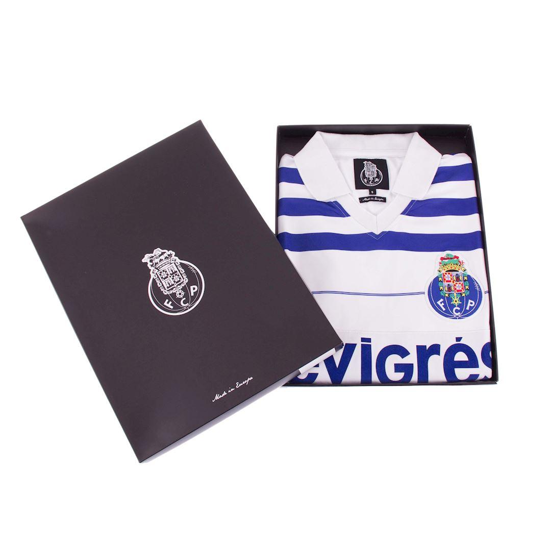 FC Porto 1985 - 86 Away Retro Football Shirt   6   COPA