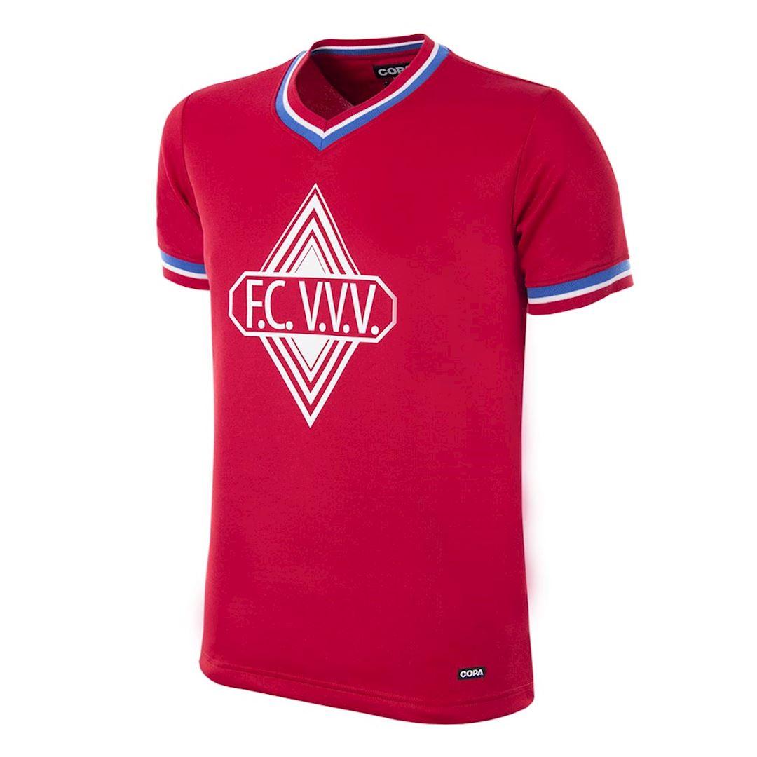 FC VVV 1978 - 79 Maillot de Foot Rétro   1   COPA