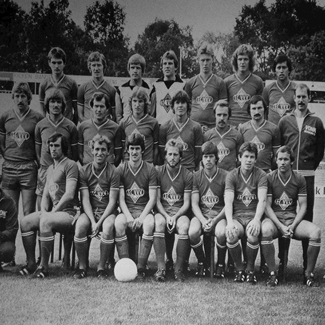 FC VVV 1978 - 79 Maillot de Foot Rétro   2   COPA