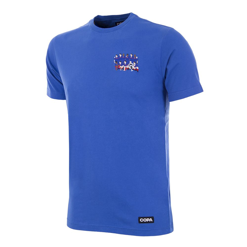 France 2000 European Champions Embroidery T-Shirt | 1 | COPA