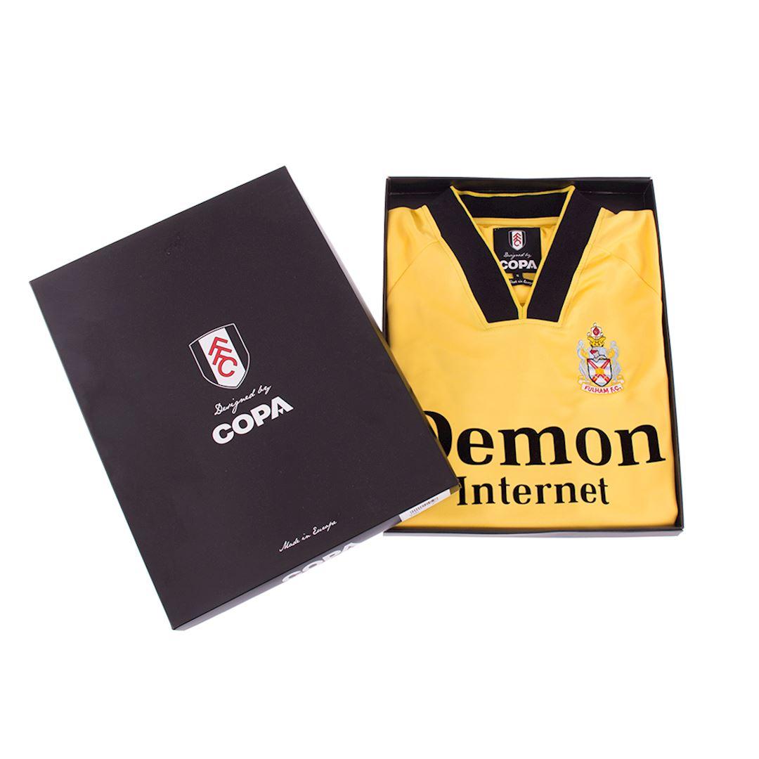 Fulham FC 1998 - 99 Away Maillot de Foot Rétro | 6 | COPA