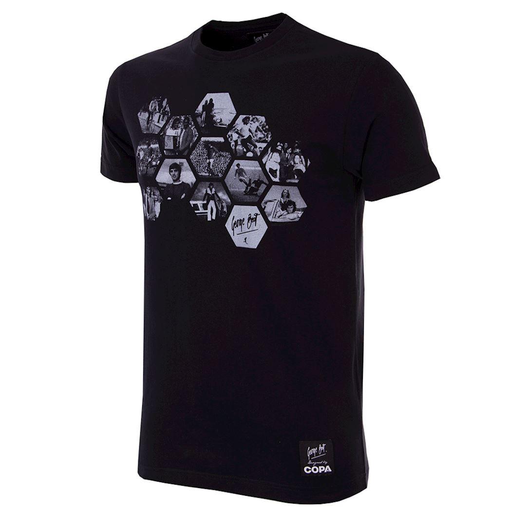 George Best Hexagon T-Shirt | 1 | COPA