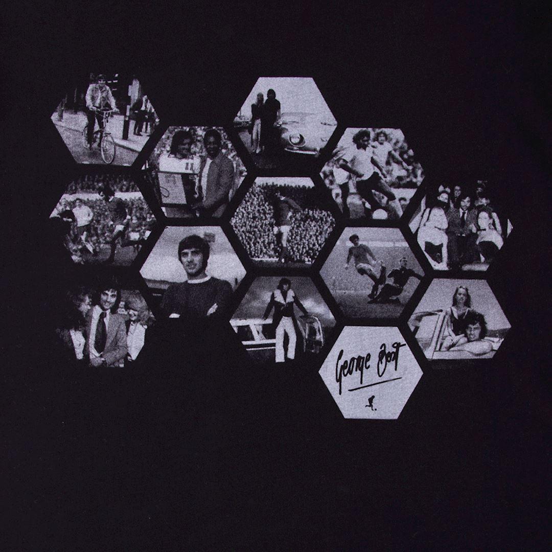 George Best Hexagon T-Shirt | 2 | COPA