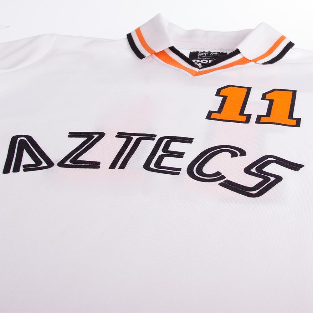 George Best L.A. Aztecs 1977 - 78 Retro Football Shirt   3   COPA