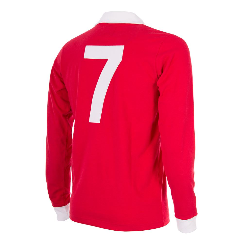 super cute 50778 3ec6a George Best Man. Utd. 1970´s Retro Football Shirt | Shop ...