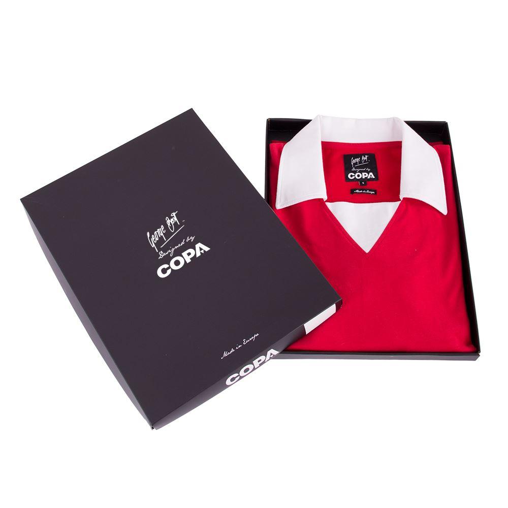George Best Man. Utd. 1970´s Retro Football Shirt | 5 | COPA