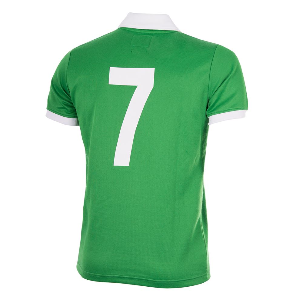 George Best Northern Ireland 1977 Retro Football Shirt | 4 | COPA